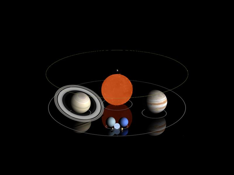 土星、OGLE-TR-122和木星
